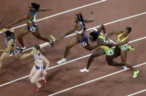 Britain and Jamaica's botched baton passes