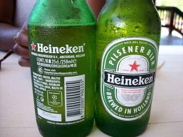Heineken DIRECT FROM Holland! These are illegal to import in Grenada