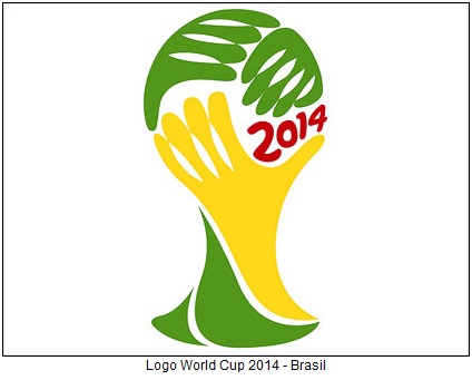 Brazil World Cup 2014 logo
